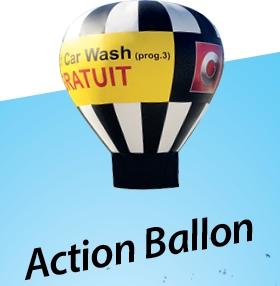 Action ballon