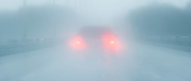 Visibilité Brouillard champs de vision