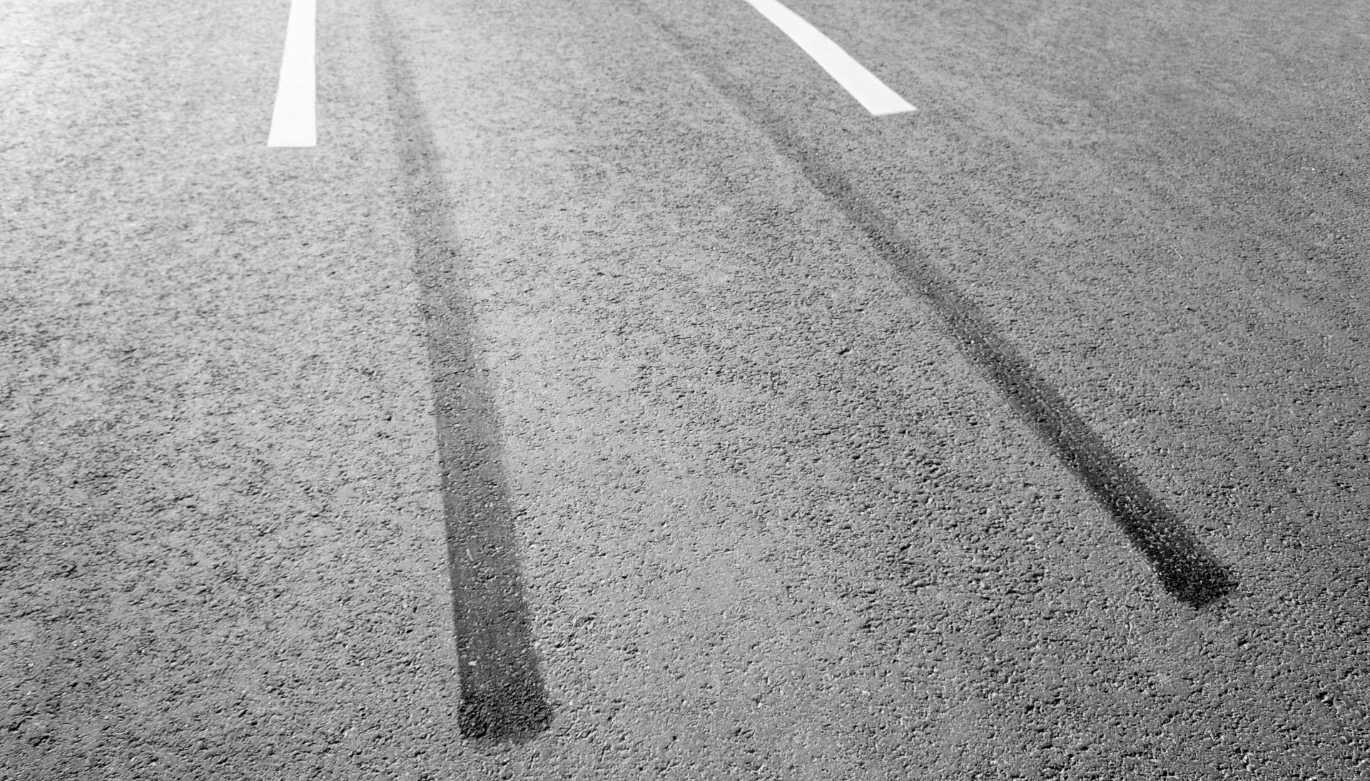 trace freinage